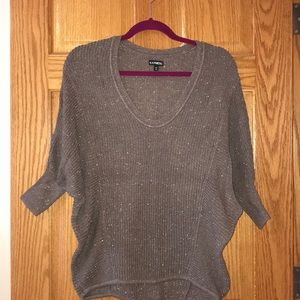 Like new! Brown/gold sweater